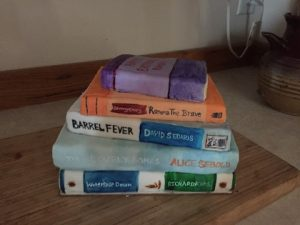 My bookish birthday cake last year