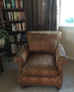 reading chair from goodwill