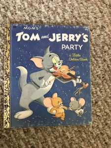 tom and jerry's party