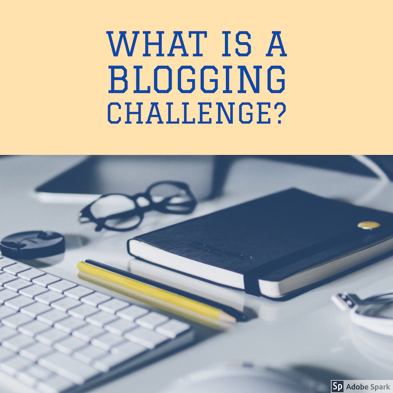 What is a blogging challenge?