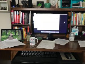 home office work space desk
