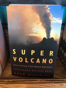 weirdly interesting books i found in yellowstone park