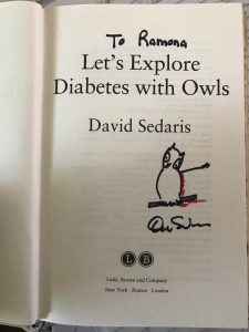 writing advice from david sedaris
