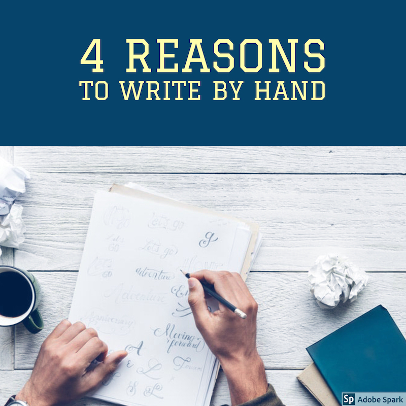 reasons i still write by hand