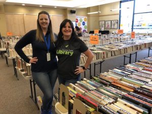 library book sale blogger