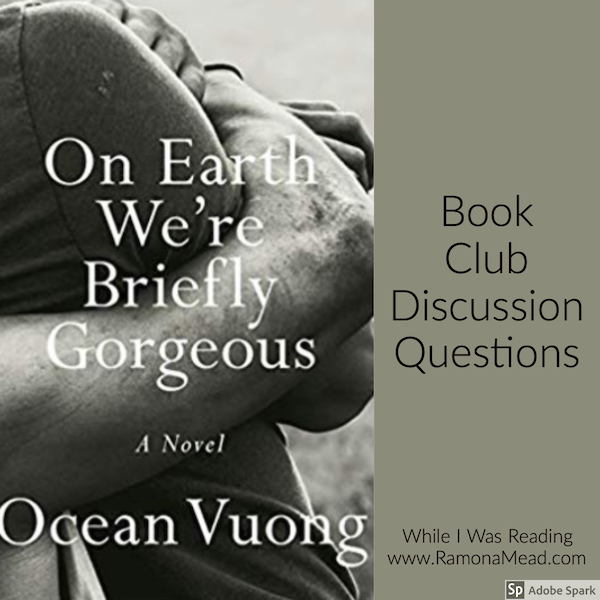 book blogger while I was reading on earth we're briefly gorgeous ocean vuong