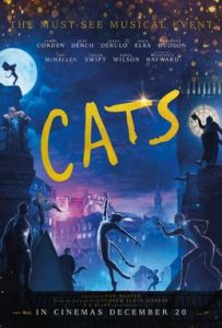CATS movie poster from December 2019
