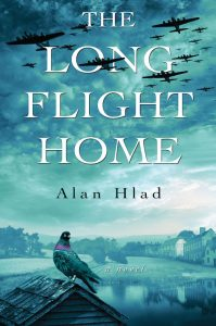 The Long flight home by Alan Hlad book cover