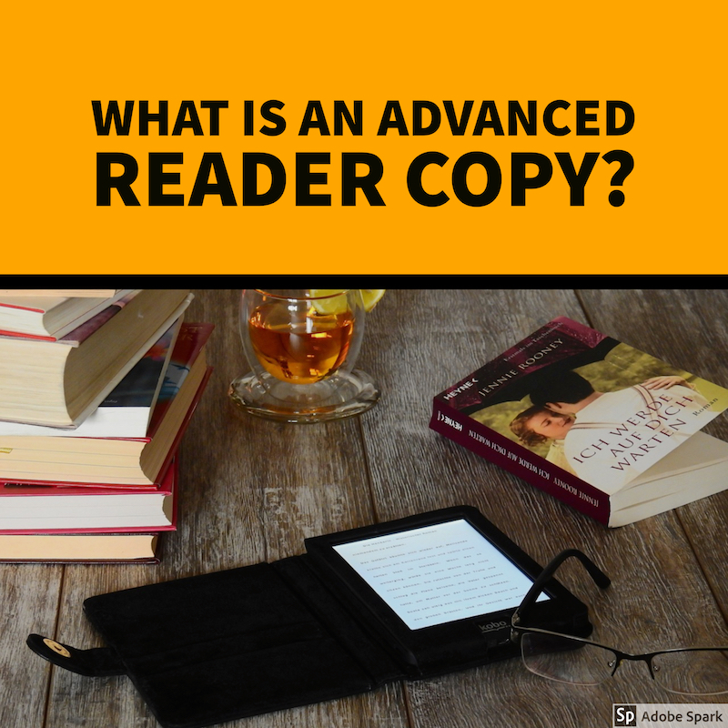 What is an advanced reader copy