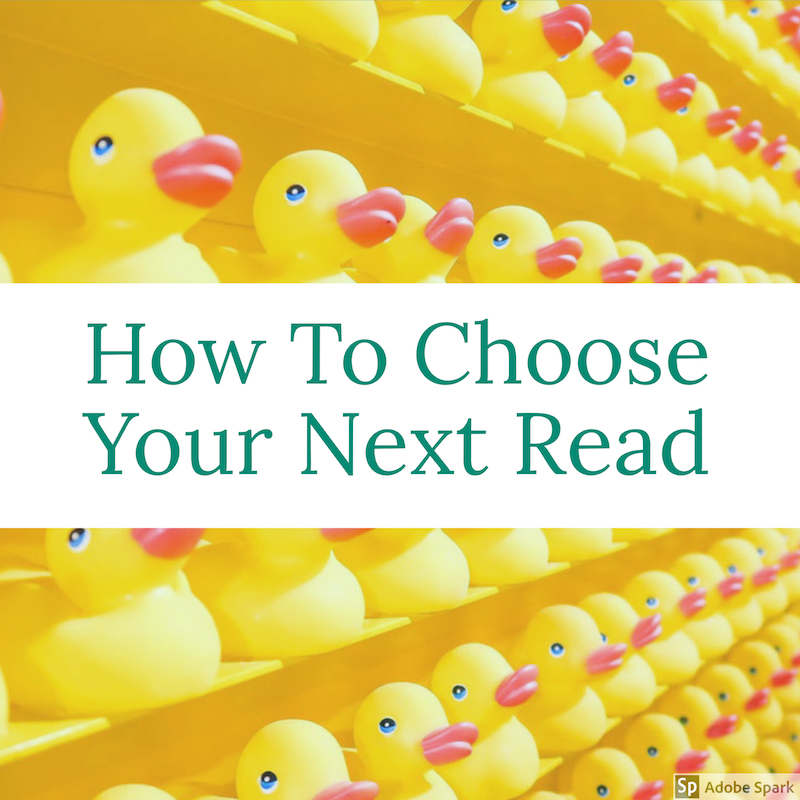 how to choose your next read