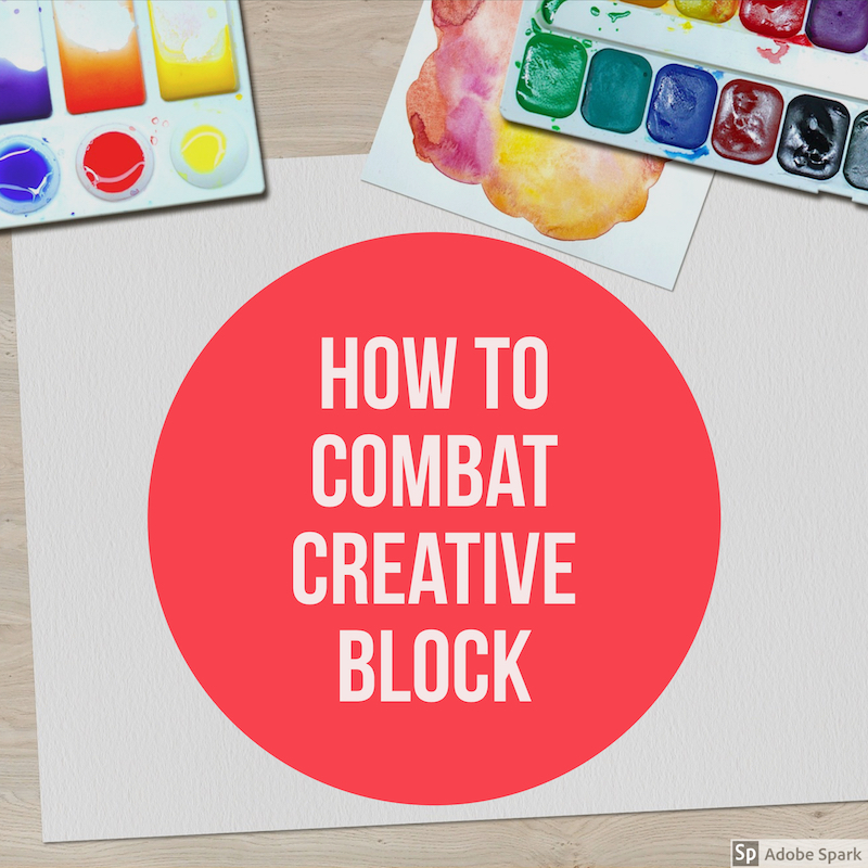 how to handle creative block