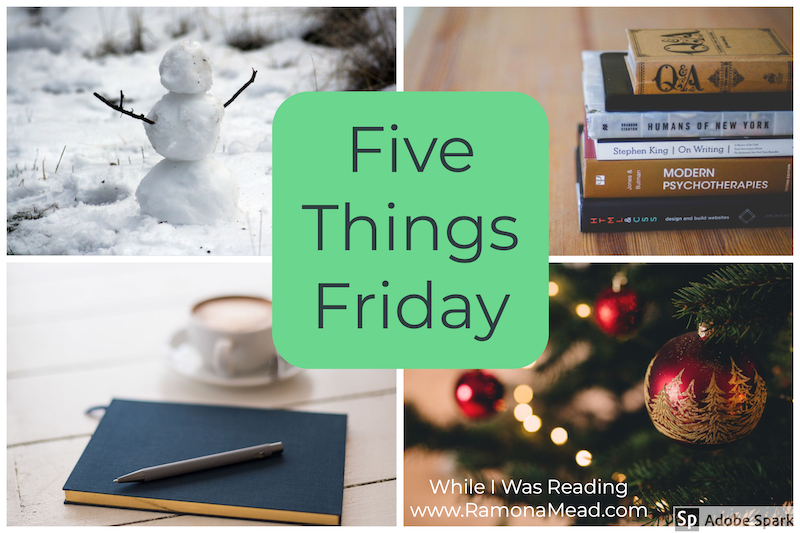 while I was reading book blogger weekly recap