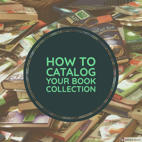 how to catalog your book collection